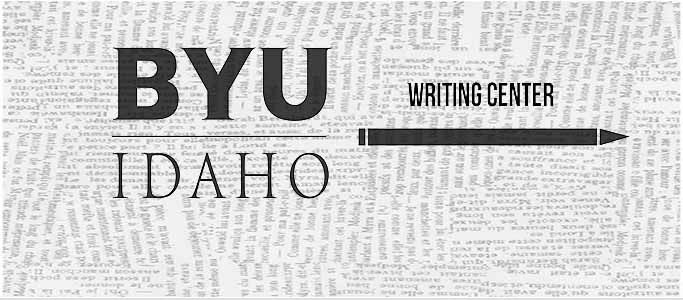 Welcome to the BYU-Idaho Writing Center