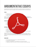 Argumentative essays from support services