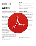 Confused Words PDF
