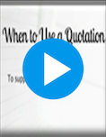 Integrating Quotations Video