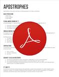 Apostrophes PDF