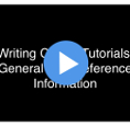 APA General Reference Information