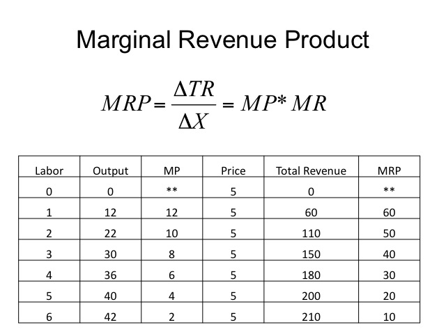 Revenue, Cost Concepts, and Market Structure