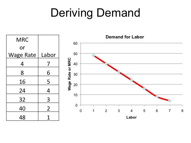labor demand curve essay example The federal government the negative effects of minimum wage laws the core components of the model are a negatively sloped labor demand curve and a.