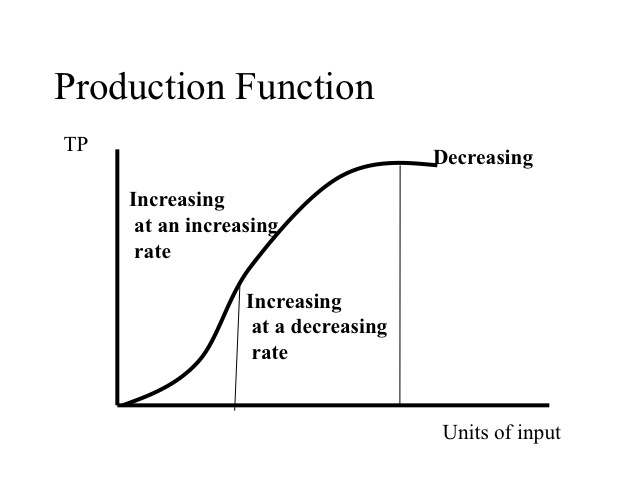 production function refers to the functional relationship between input and