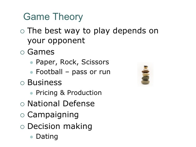 game theory strategic thinking in everyday Book store everyday low prices and free delivery on eligible orders   prisoner's dilemma: john von neumann, game theory and the puzzle of the  bomb.