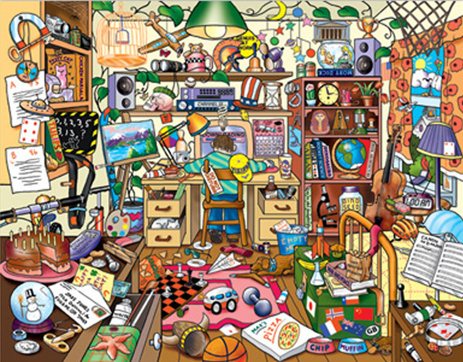 messy house clipart - photo #10