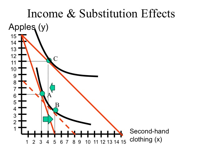 substitution and income effects paper This paper evaluates the effect of estate taxes on labor supply the analysis decomposes the effect of estate taxation into the substitution effect of relative price.