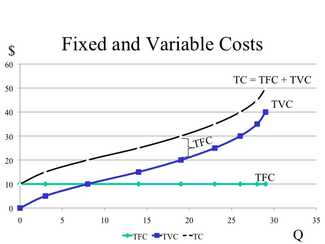 The study economics pruduction for Table 6 fixed costs